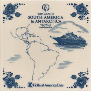 5 prinsendam 2007 south america & antarctica segment 1