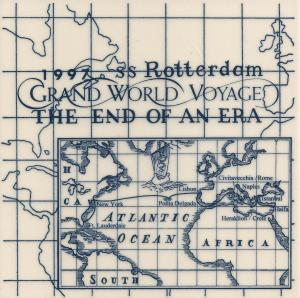 World Voyages Holland America Line Tiles