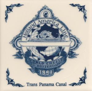 2 ss rotterdam 1993 trans panama canal