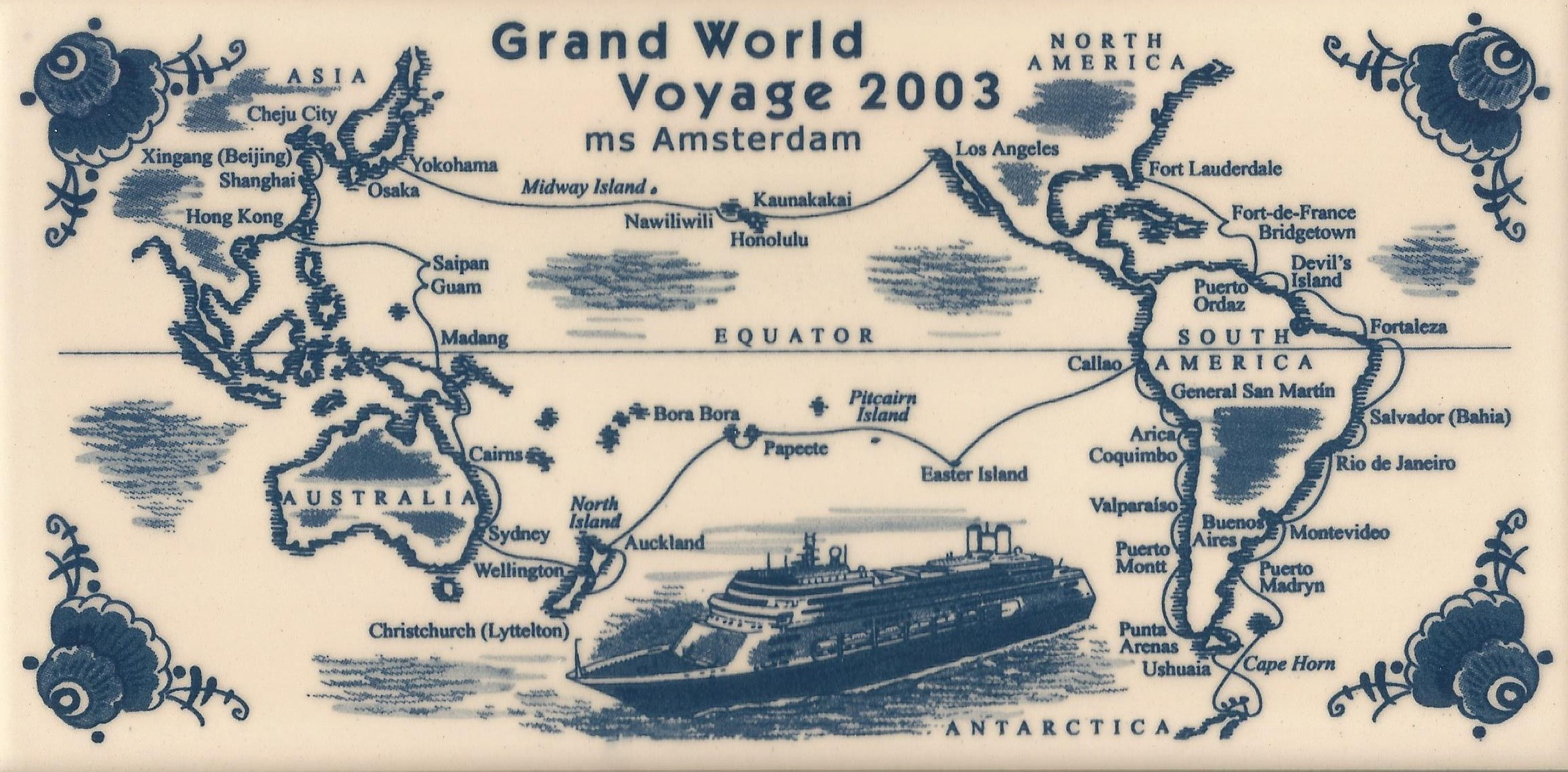 38 grand world voyage amsterdam 2003