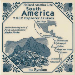 19 ryndam 2002 south america explorer cruise